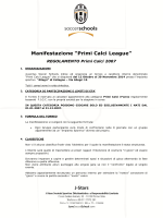 Regolamento PCL - Juventus Soccer School