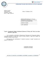 Campionato Italiano Individuale Seniores di Pesca alla Trota con