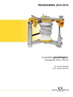 PROGRAMMA 2014-2015 La protesi gnatologica: