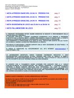Bollettino aste aprile 2014 - Istituto Vendite Giudiziarie di Venezia