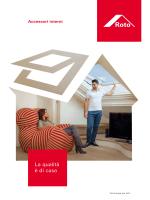 Roto Finestre per tetti 2014 Accessori Interni
