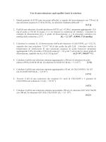 Test di autovalutazione sugli equilibri ionici in soluzione 1. Quanti