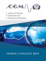 Scarica il catalogo - CGM Gruppi Elettrogeni