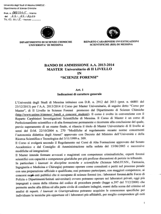 2014 unmecle 0003345 - Università degli Studi di Messina