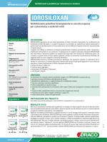IDROSILOXAN - Draco Edilizia