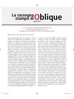 1-31 agosto - Oblique Studio