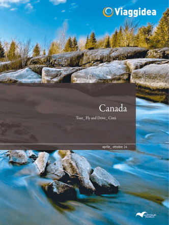 Canada Viaggidea Estate 2014