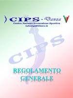 REGOLAMENTO CIPS DANZA Pag. 1