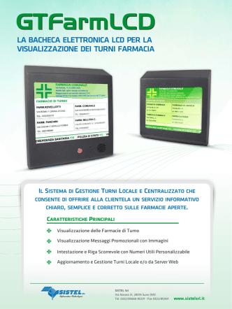 Bacheca Elettronica GTFarmLCD