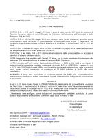 Decreto USR TFA ammessi con riserva TAR prova scritta Leo irene