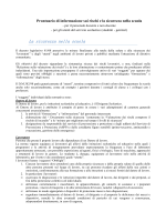 """informativa generale sui rischi - Istituto Comprensivo """"Anna Frank"""