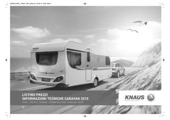 caravan knaus 2015