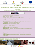 Progr Conv 124 Vininnova 17 - Ordine Dottori Agronomi e