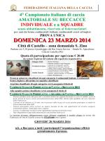 4° campionato italiano amatoriale su beccacce - atc rieti-1