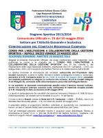 C.U. n. 74 L.N.D.-S.G.S. del 15.05.2014
