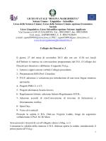 Verbale N.3 del 27 novembre 2013 - Liceo Statale Regina Margherita