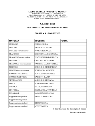 """5ALL_DOCUMENTO AS 14-15 - Liceo statale """"Augusto Monti"""""""