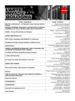 Titolo / Descrizione Luogo / Indirizzo Arte Fiera Collezionismi