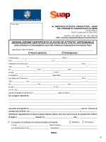 Segnalazione certificata di avvio di attività artigianale