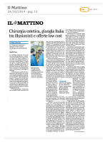 Chirurgia estetica, giungla Italia tra illusionisti e offerte low cost