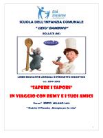 Progetto Educativo scuola infanzia paritaria comunale G. Bambino