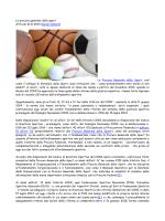 La procura generale dello sport Articolo 10.11