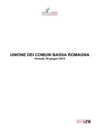 20 giugno 2014 - Unione dei Comuni della Bassa Romagna