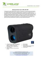Distanziometro laser CAR-LRF 600