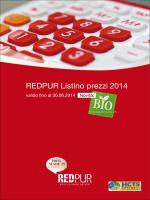 REDPUR Listino prezzi 2014