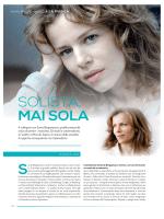 SOLISTA, MAI SOLA - Sonia Bergamasco
