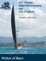 Il Trofeo Accademia Navale e Città di Livorno
