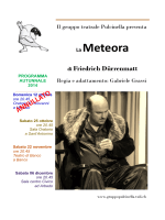 La meteora - volantino A5