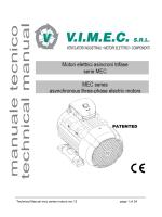 Technical Manual mec series motors rev.12 page 1 of 24