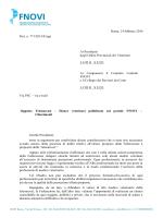 NOTA FNOVI Prot. n. 771/2014 - Ordine dei Medici Veterinari della