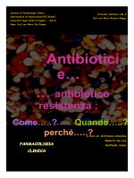 Antibiotici e… - Servizio di informazione sul farmaco