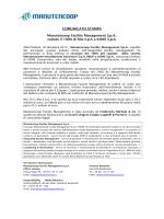 Comunicato stampa - MFM cede 100% di Mia S.p.A