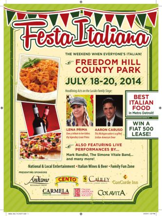 2014 Festa  - Italian American Cultural Society