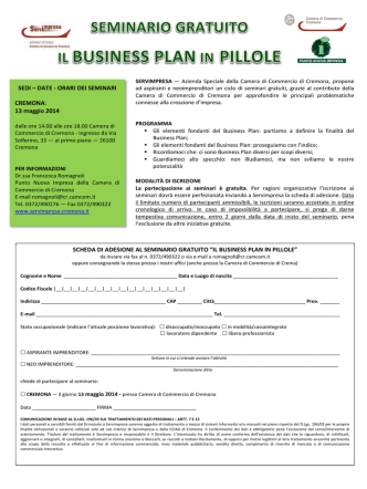 Brochure MIP in pillole servimpresa