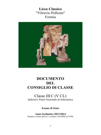 3C - Liceo Formia