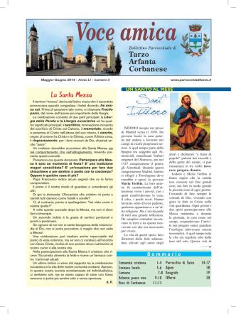 2014-3 - Parrocchia della Purificazione della Beata Vergine