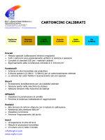CARTONCINI CALIBRATI - Green Solutions Srl