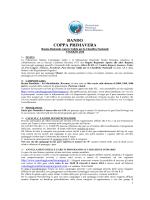 BANDO COPPA PRIMAVERA - Canottaggioservice