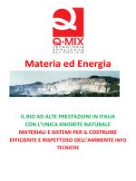 Materia ed Energia - Italprogetti Srl