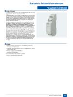 Estratto catalogo scaricatori per segnali