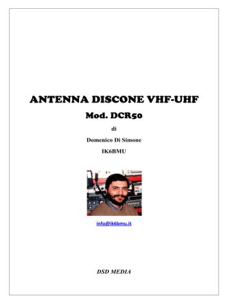 DCR50 - IK6BMU home page