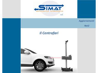 Aggiornamenti Net2 - SIMAT Automotive