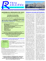 Leggi il notiziario - Club Alpino Italiano