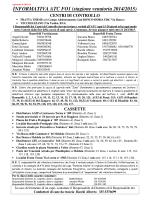 INFORMATIVA ATC FO1 (stagione venatoria 2014/2015)