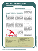 """Tam Tam Volontariato"" n. 373 del 13/11/2014"