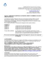 indizione campionato u16 femminile 2014-2015